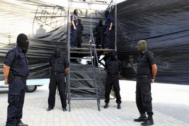 داخلية غزة: إعدام 3 عملاء شنقاً