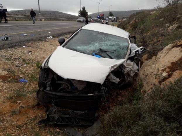 مصرع فتى واصابة اخر في حادث سير غرب رام الله