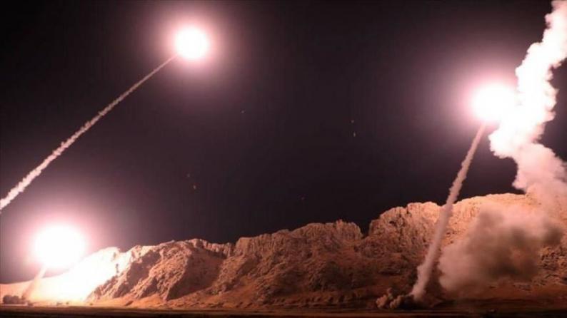 هجوم صاروخي يستهدف قاعدة أمريكية شمال بغداد
