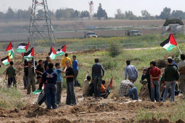 غزة | إصابة شاب برصاص الاحتلال