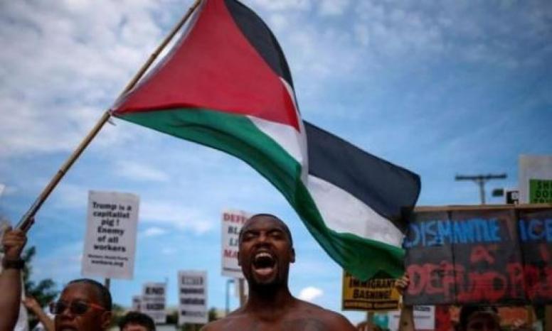 """""""حياة السود مهمة"""" تعلن نفسها صديقة فلسطين.. واللوبي غاضب"""