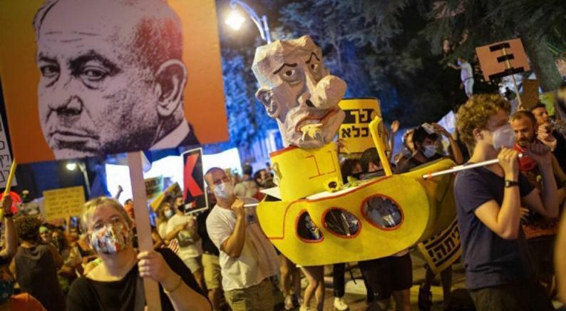 للأسبوع الـ31 على التوالي مظاهرات حاشدة ضد نتنياهو في دولة الاحتلال