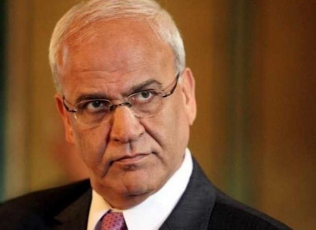 عريقات: ليبرمان هو الرئيس الفعلي للفلسطينيين والمنسق رئيس الوزراء