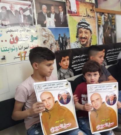 الأسير حسن العويوي يواصل اضرابه المفتوح عن الطعام لليوم الـ68