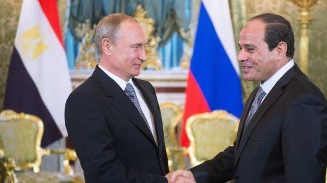 السيسي يلتقي بوتين في سوتشي منتصف الشهر الجاري