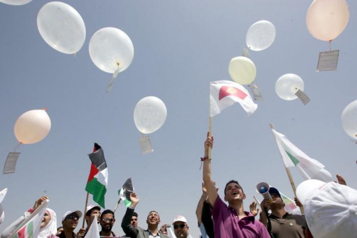 سماع دوي انفجارات في المستوطنات المحيطة بقطاع غزة