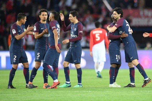 باريس سان جيرمان يسحق موناكو ويحرز لقب الدوري