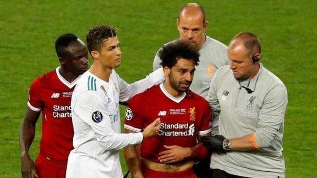 رونالدو يرشح صلاح للمنافسة على الكرة الذهبية
