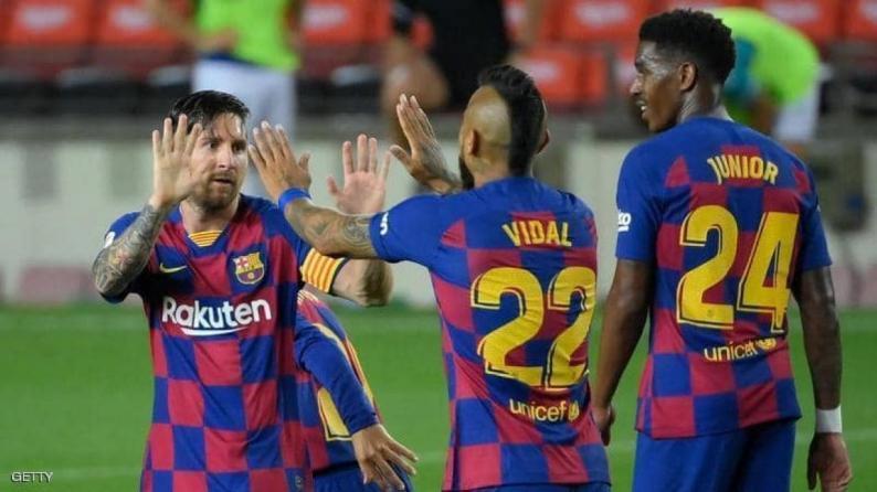للمرة الثالثة على التوالي.. برشلونة يكتسح وسائل التواصل الاجتماعي
