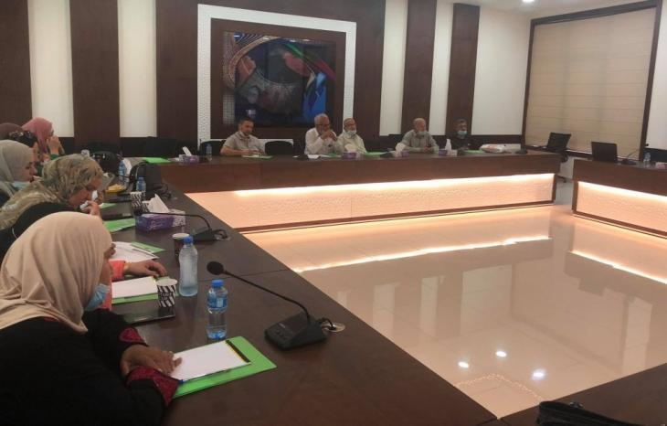 جمعية العمل النسوي تعقد ورشة حوار مع هيئة العمل التعاوني حول قانون العمل التعاوني
