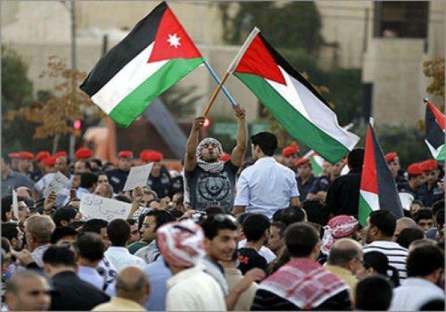 اكثر من ألف متظاهر في عمان ضد اعلان ترامب القدس عاصمة لاسرائيل