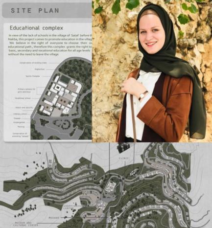 """ياسمينة تبث الحياة في قرية """"صطاف"""" المهجرة.. هكذا ستكون دون الاحتلال"""