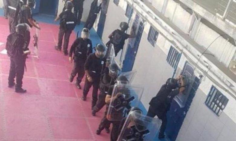 تسجيل 8 اصابات بفايروس كورونا في صفوف الاسرى في سجن ريمون