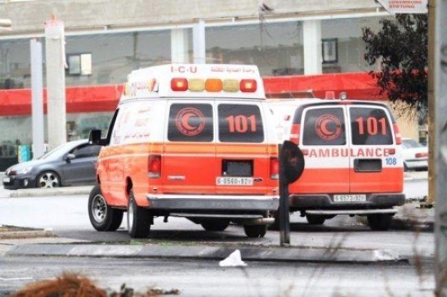 إصابة عامل سقط من الطابق الخامس في دير الغصون