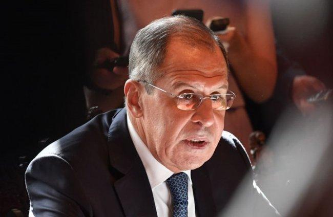 وزير الخارجية الروسي يتعهد بتدمير المسلحين بإدلب