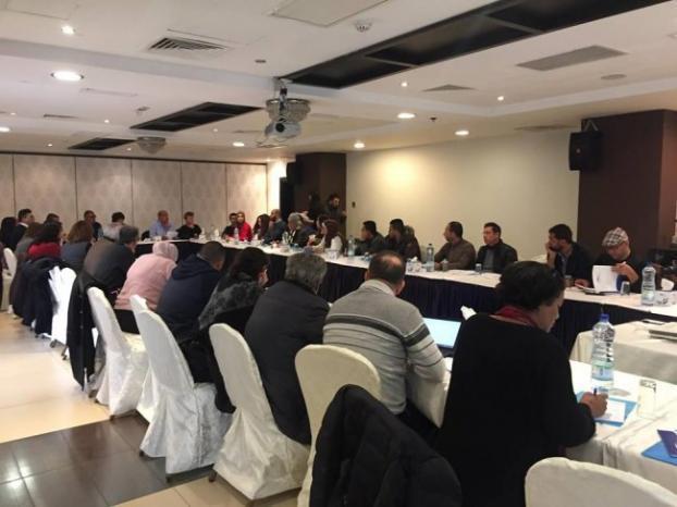 الإئتلاف الفلسطيني للحقوق الاقتصادية والاجتماعية (عدالة) يعقد انتخاباته الداخلية للعام 2018