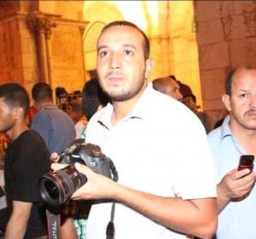 الاحتلال يعتقل المصور الصحفي أمجد عرفة في القدس
