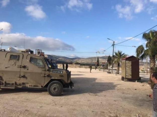 إصابات بالاختناق إثر مواجهات مع الاحتلال في سبسطية