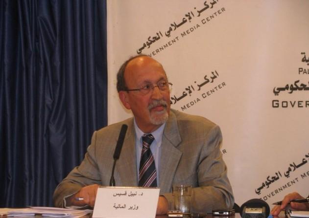 وزير المالية نبيل قسيس يقدم استقالته