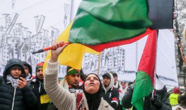 مظاهرات نصرة القدس مستمرة بأنحاء العالم