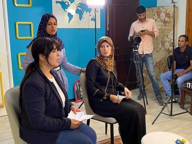"""""""فلسطينيات"""" تطلق حلقات البرنامج التلفزيوني"""" فضاء شبابي"""""""