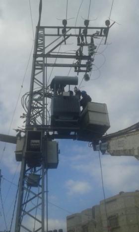 كهرباء غزة تؤكد جهوزيتها الكاملة للتعامل مع المنخفض الجوي
