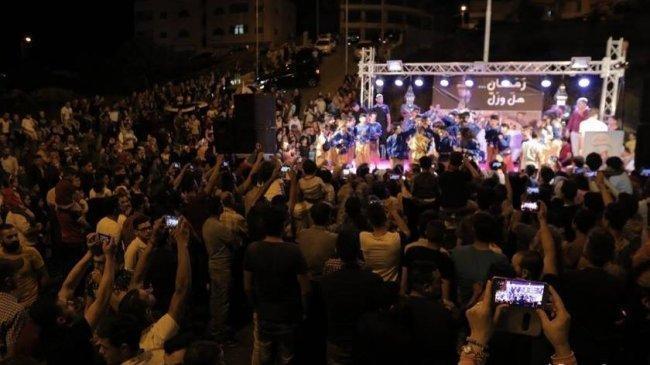 الخليل على موعد مع مهرجان الطفل والعائلة رابع ايام العيد