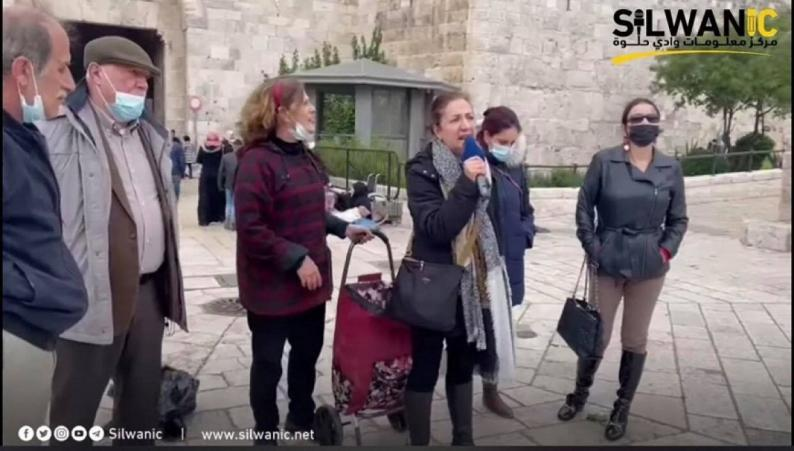 """في مؤتمر صحفي من قلب القدس.. مرشحتا """"اليسار الموحد"""" تؤكدان حق المقدسيين في المشاركة الحرة بالانتخابات"""