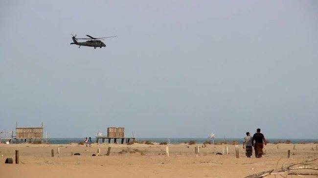 تحطم مروحية عسكرية سعودية في اليمن ومقتل طياريها