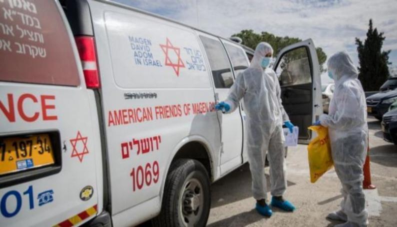 حالة وفاة و412 إصابة جديدة بفيروس كورونا في دولة الاحتلال