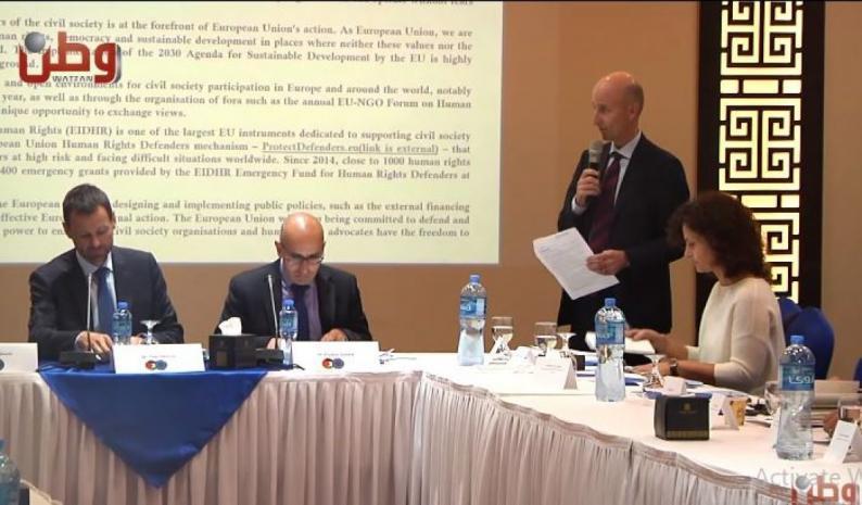 إطلاق خارطة الطريق الأوروبية المشتركة للعمل مع المجتمع المدني الفلسطيني
