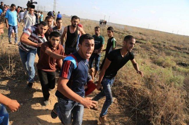 استشهاد شاب برصاص الاحتلال شرق المغازي