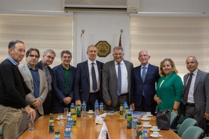 وفد رفيع من بريشيا الايطالية يزور جامعة القدس تأكيدًا على عمق الصداقة والتعاون