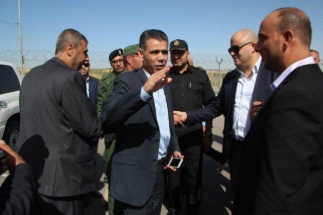 الوفد الامني المصري يصل قطاع غزة