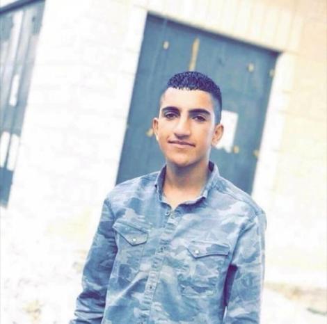استشهاد الفتى ايمن فارس برصاص الاحتلال قرب سلواد
