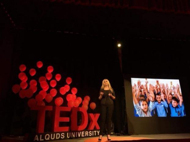 """أفكار ريادية وملهمة تنطلق من جامعة القدس بمؤتمر """"TEDx"""" العالمي"""