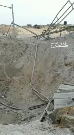 فيديو| آثار قصف الاحتلال على غزة فجر اليوم