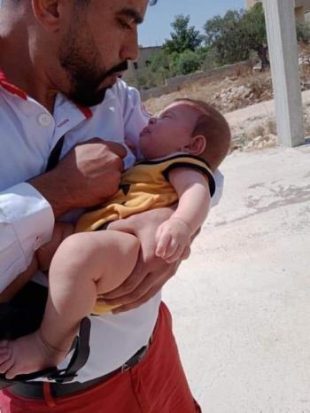 إصابة رضيعة بالاختناق إثر استهداف الاحتلال منزل ذويها بقنابل الغاز في كفر قدوم