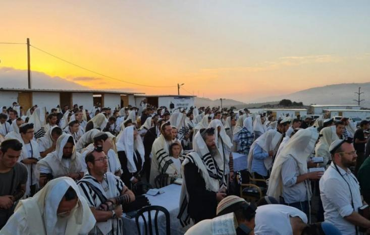 مئات المستوطنين يقتحمون جبل صبيح بنابلس وسط عمليات استفزازية