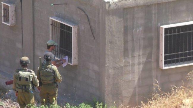محدث| بيت لحم: الاحتلال يخطر بوقف البناء في 3منازل