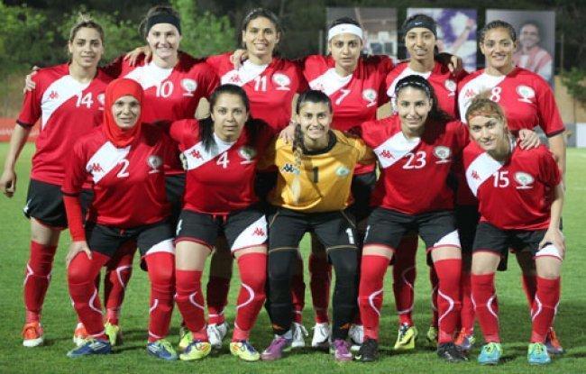 نسوي فلسطين يحرز البرونزية في مباريات دبي