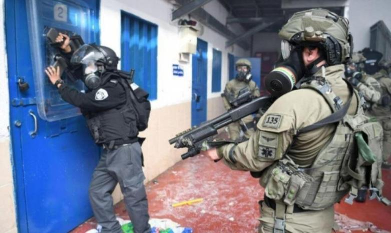 """وحدات القمع تقتحم قسم """"1"""" في سجن جلبوع وتعتدي على الأسرى"""