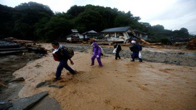199 قتيلاً حصيلة ضحايا الأمطار والسيول في اليابان والعدد مرشح للارتفاع