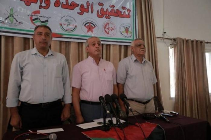 غزة.. القوى السياسية: رؤيتنا للكل الوطني وماضون لاطلاع الضفة والخارج عليها