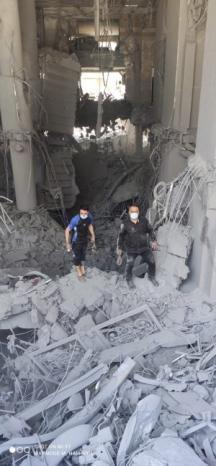 شركة فيوجن :انقطاع خدمة الإنترنت عن عشرات آلاف المشتركين في قطاع غزة إثر الغارة الجوية على برج الجوهرة