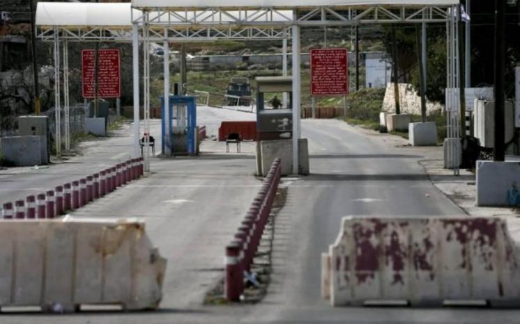 """الاحتلال يغلق غدا السبت """"حاجز Dco"""""""