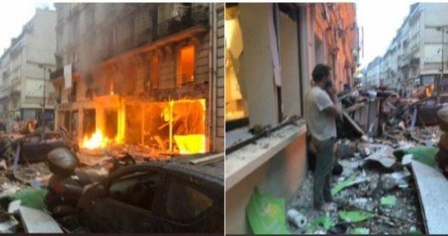 إصابات في انفجار غامض وسط باريس