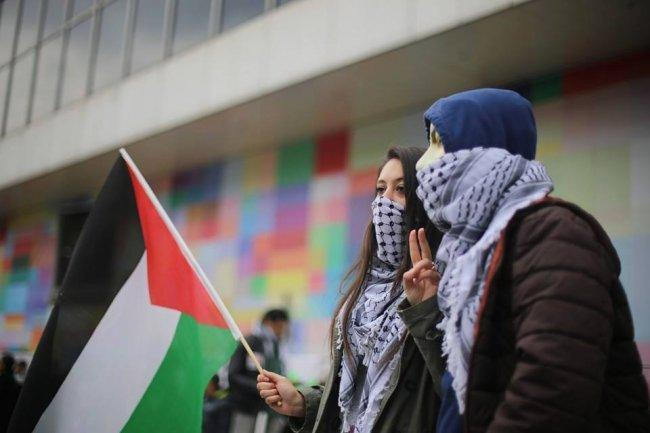 حملة ضغط دولية في بروكسل بهدف حماية الفلسطينيين قانونيا