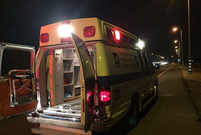 اصابة طفل تعرض للدهس في طمرة