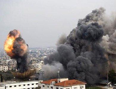"""""""الجو الإسرائيلي"""": استخدمنا كميات نيران هائلة سيشعر بها قطاع غزة لسنوات"""